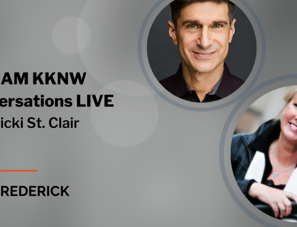 Interview: Conversations Live with Vicki St. Clair