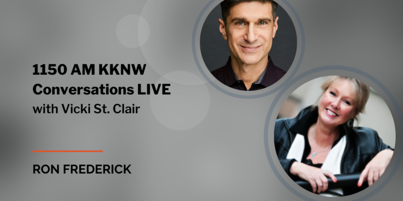 Ron Frederick and Vicki St. Clair - Conversations LIVE